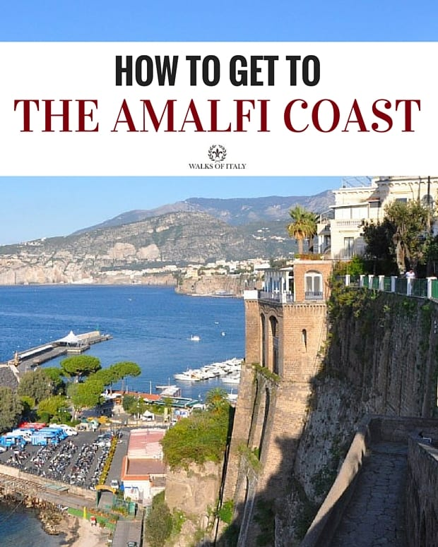 This beautiful spot on the Amalfi Coast is just one of the many places you can visit, if you know how. Check out our guide to the best ways of reaching the Amalfi Coast!