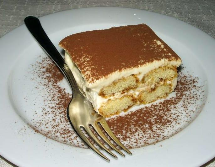 Tiramisu, a popular dessert across Italy