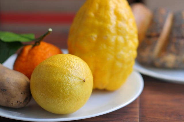 Bergamot oranges (flickr: John Loo)