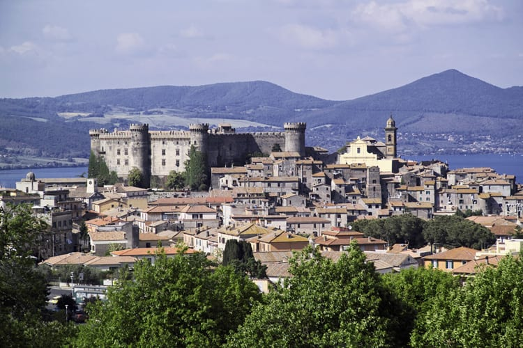 Bracciano and the Odescalchi castle, an easy day trip from Rome