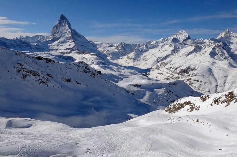 Ski in Italy… and enjoy not only great snow, but views like this one!