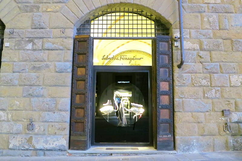 Shopping in Florence, Ferragamo