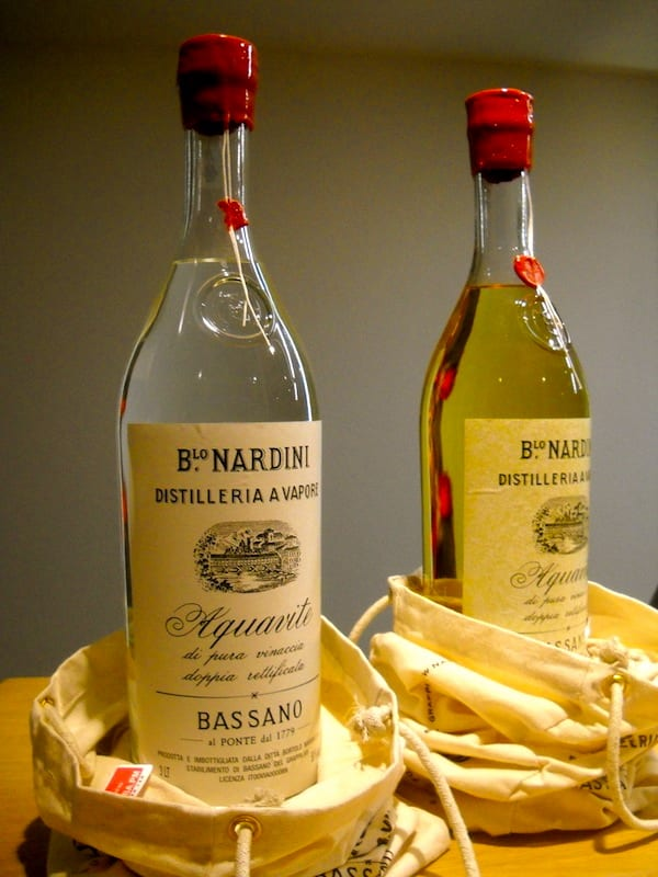 Grappa from Nardini Distillery. Photo credit: kwistent (flickr)