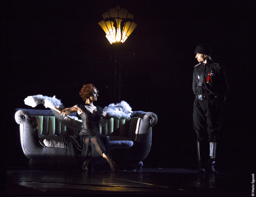 Amarcord ballet based on the Fellini film at Rome's Teatro Olimpico