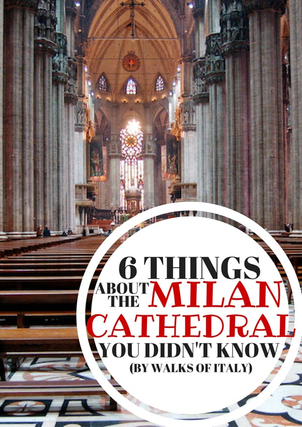 Milan cathedral (and its 52 interior columns) is one of the most impressive buildings in Italy. Find out what makes it so incredible on the Walks of Italy blog.