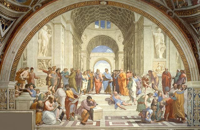 Vatican Museums - School of Athens
