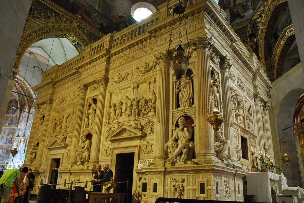 The Holy House of Loreto, via Wikipedia Commons.