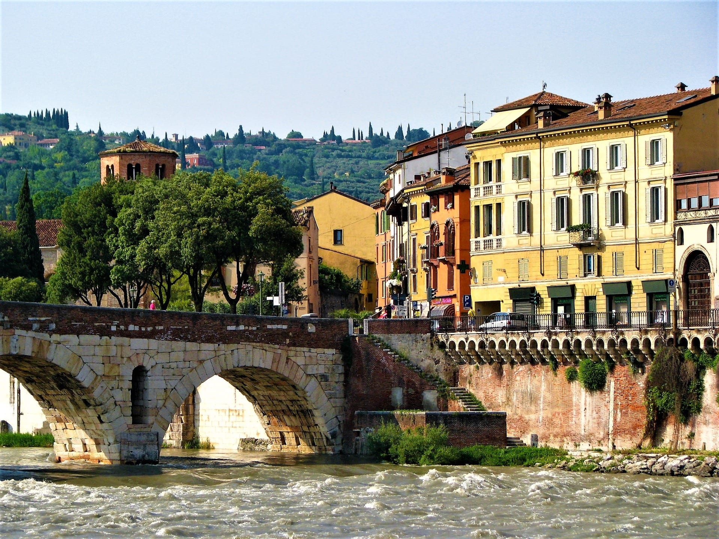verona stone bridge
