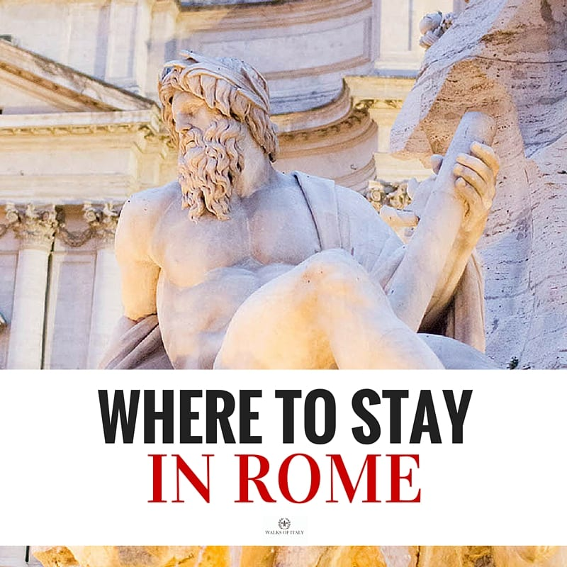 The Piazza Navona is a great place to base any Roman Holiday. Find our where to stay in Rome in our Blog!