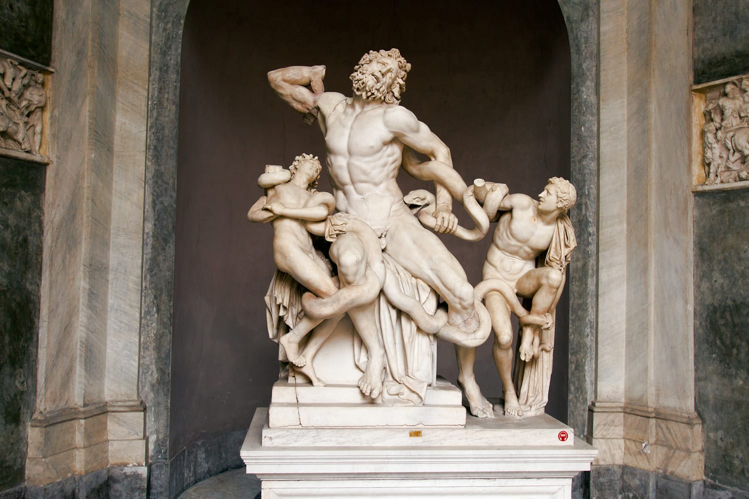 Laocoon and His Sons, in the Vatican Museums. See this sculpture on a walking tour with Walks of Italy.
