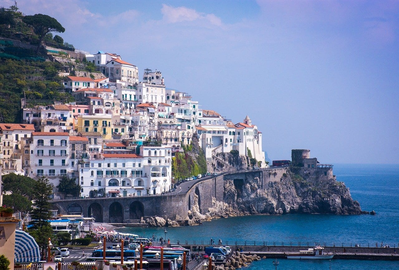Amalfi Town is one of the most lively spots on the coast.