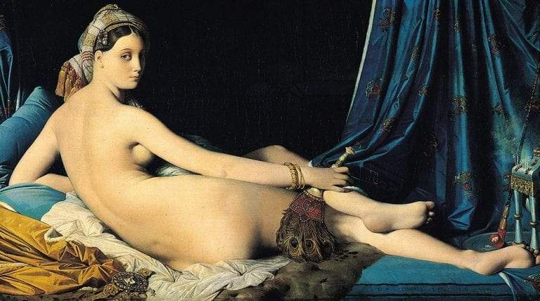 Grande Odalisque by Ingres