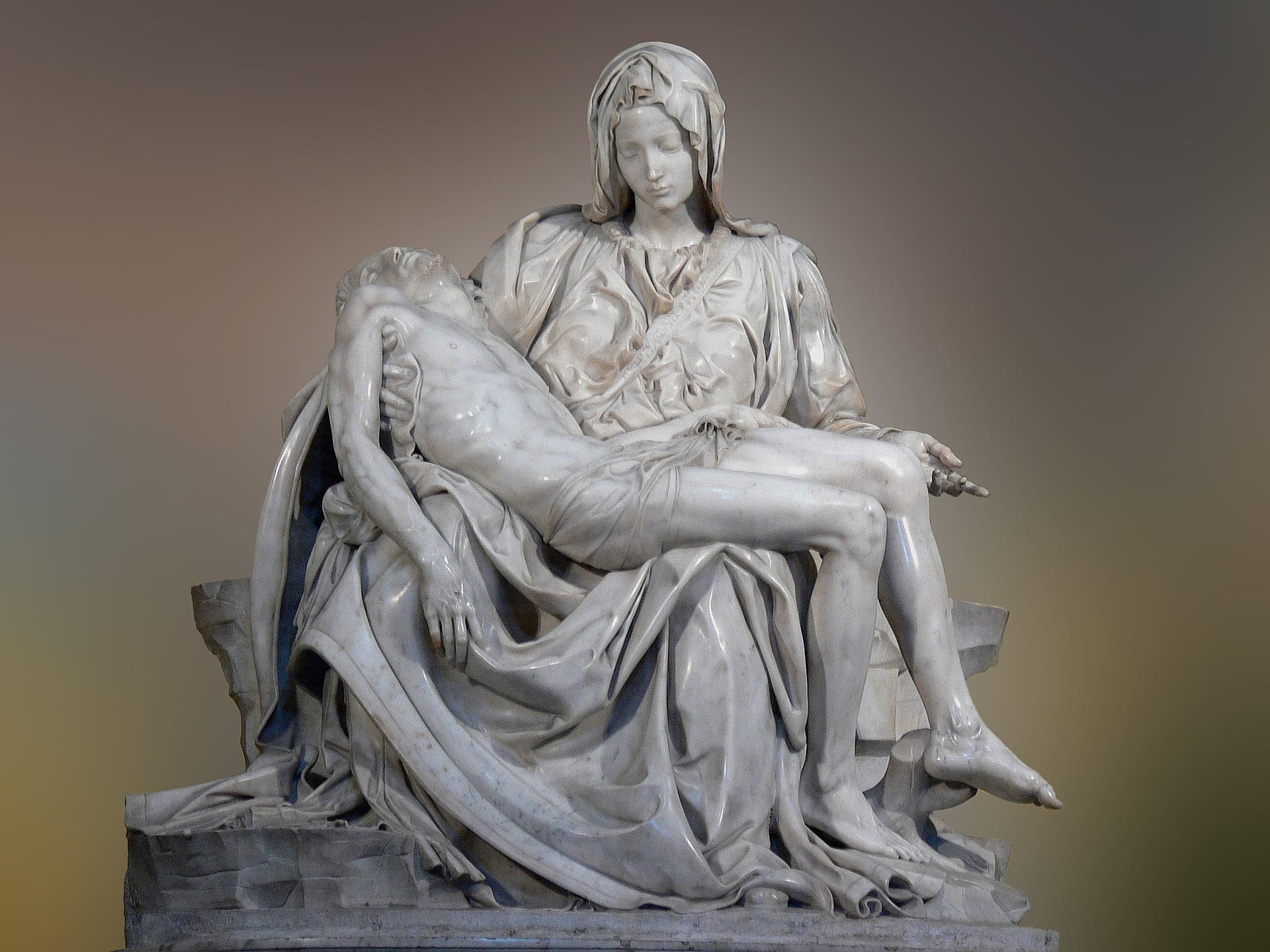 Michelangelo's Pietà at St. Peter's Basilica