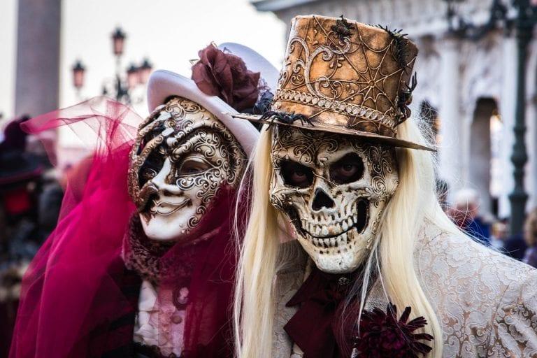 Carnevale Masks in Venice