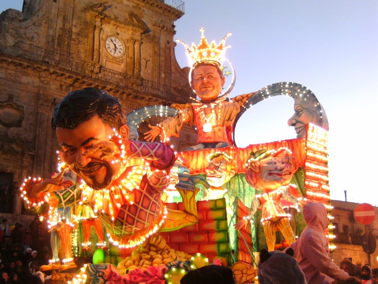 Carnival in Sicily, Palazzolo Acreide