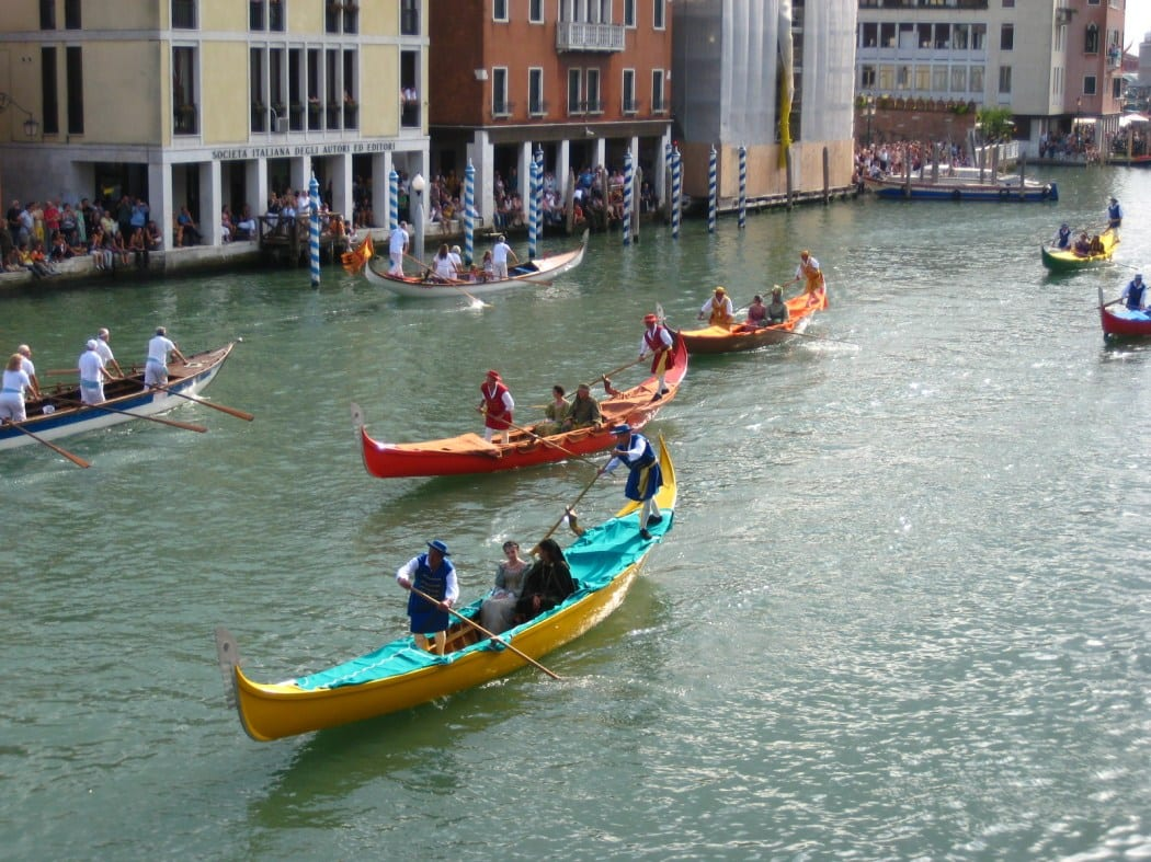 Regata in Venice