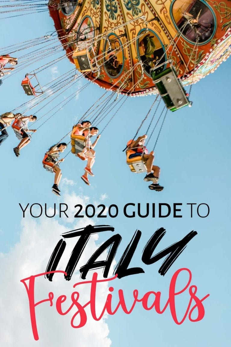 Your 2020 Guide to Festivals in Italy