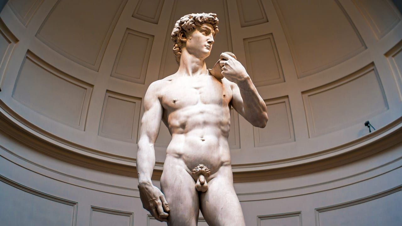 Many replicas of Michelangelo's 'David' exist today. The original is housed in the Accademia Gallery along with four other unfinished sculptures by the artist.