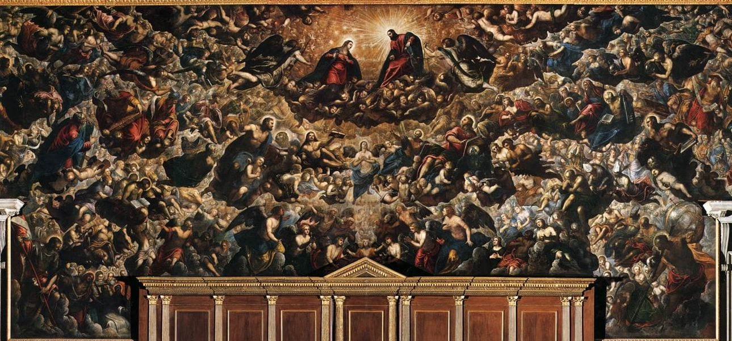 Tintoretto's Paradiso