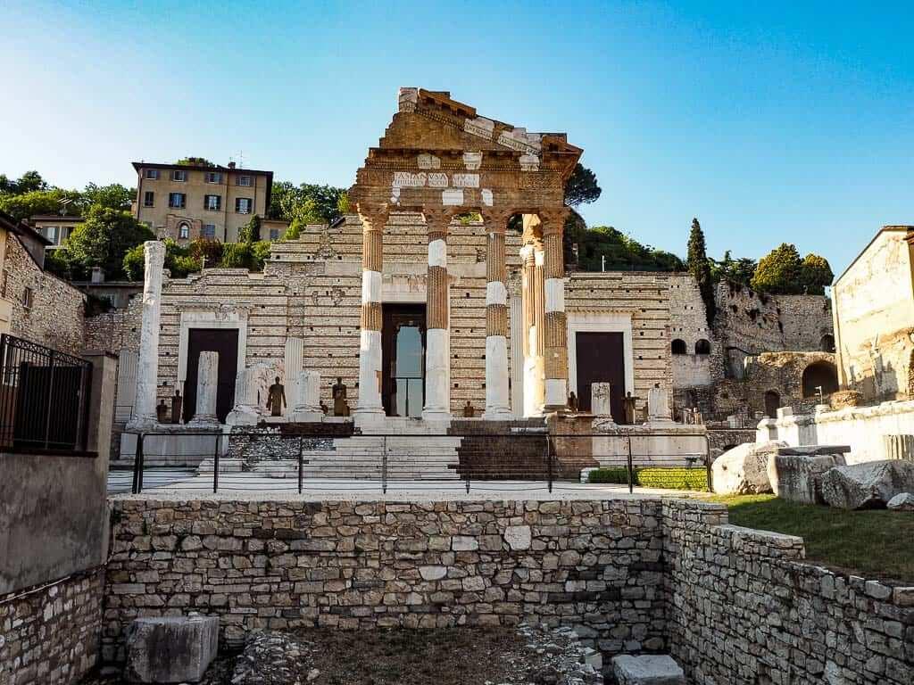brescia roman forum