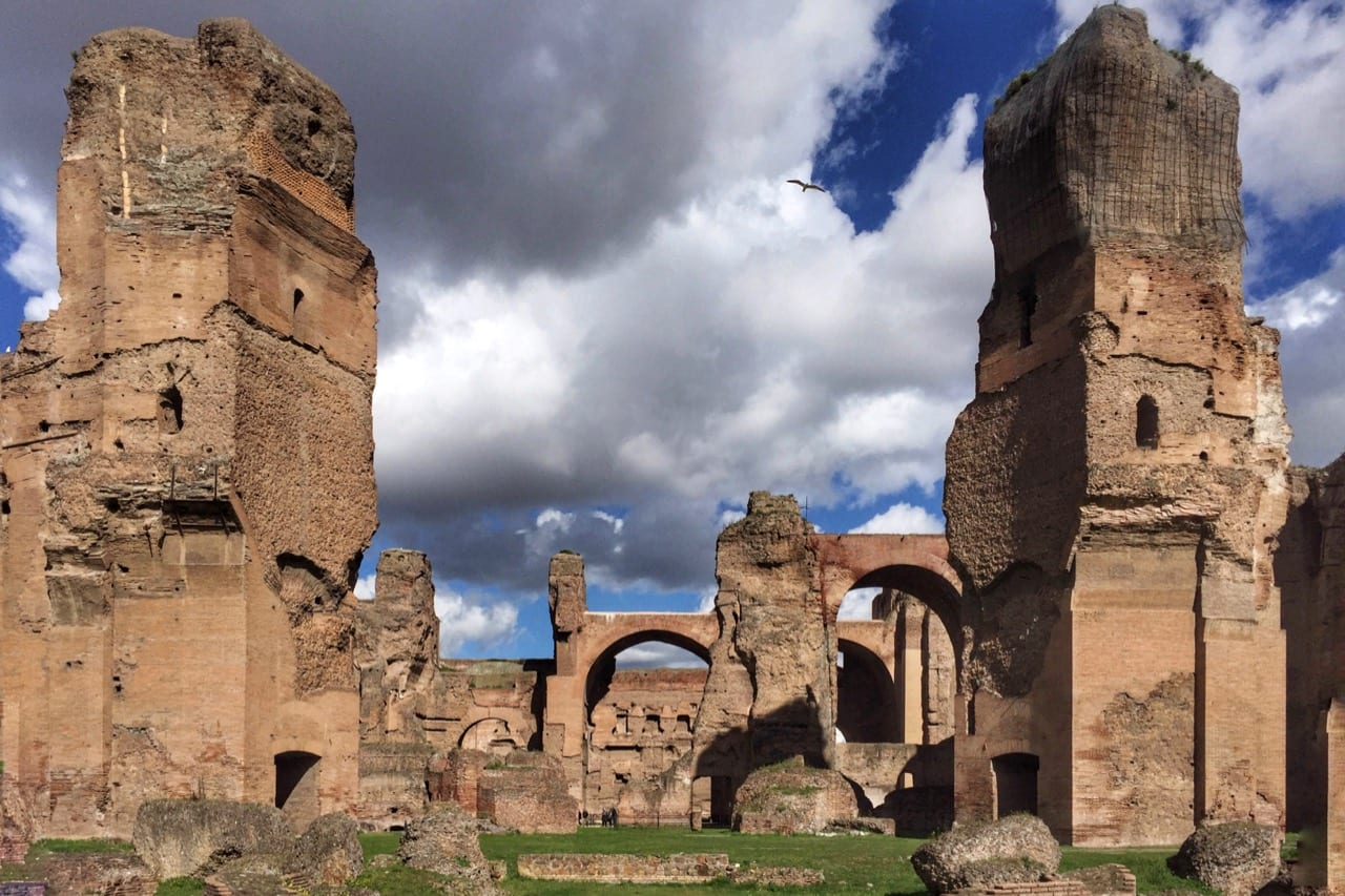 caracalla baths rome