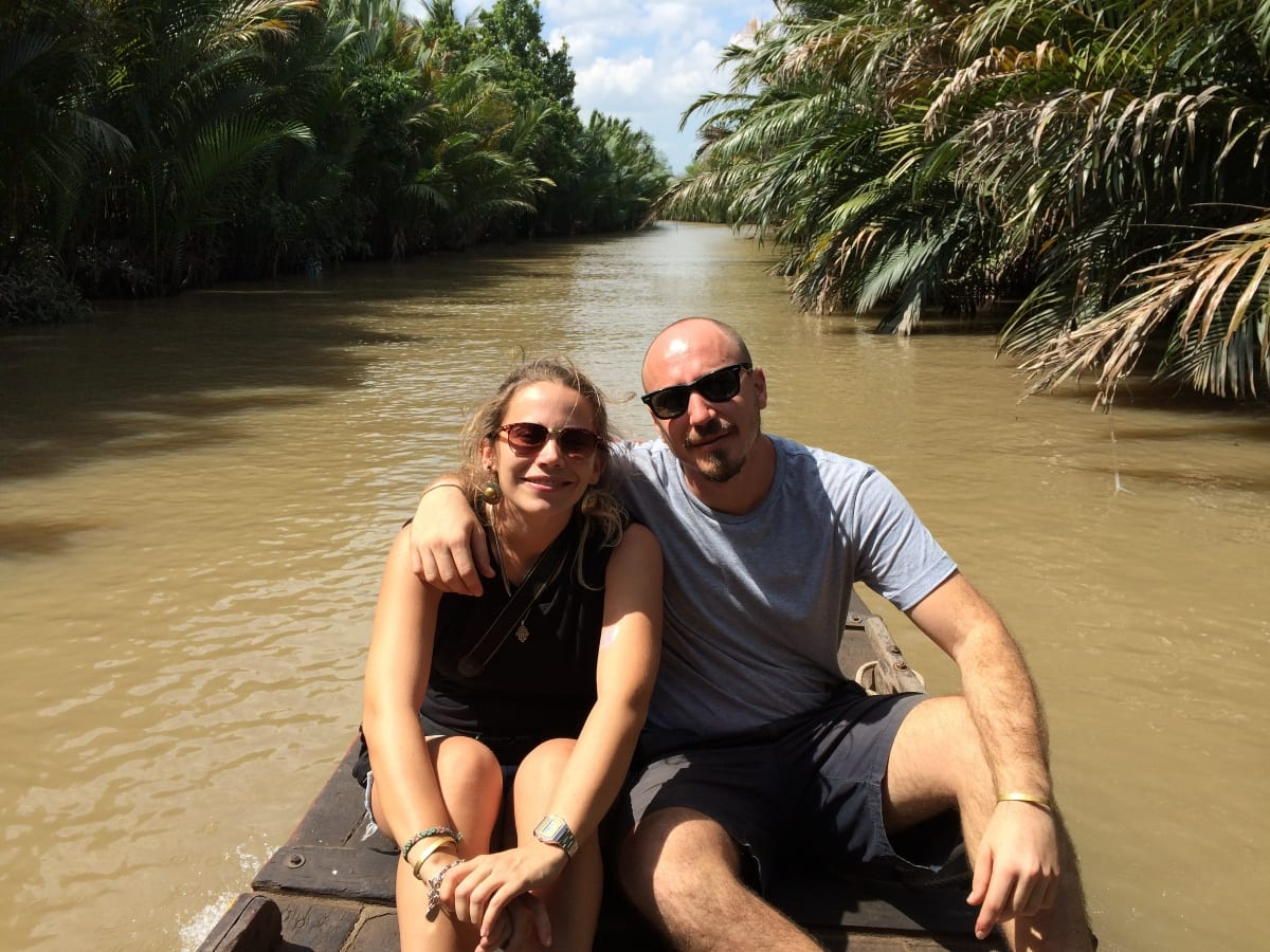 Den and Rob in Asia