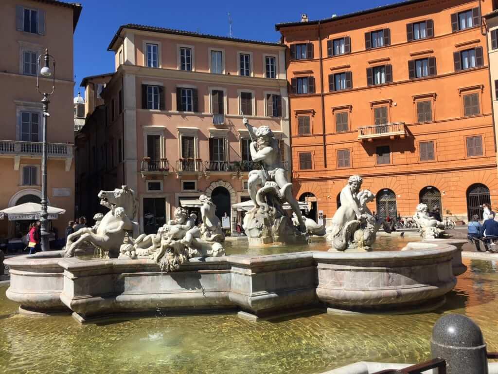 Fontana del Moro in Piazza Navona