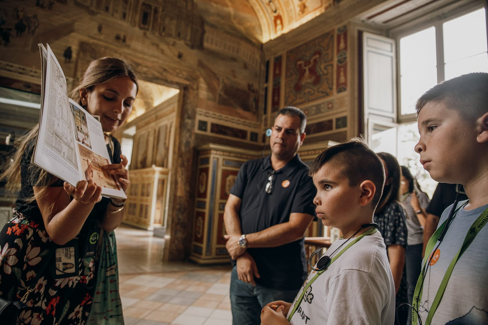 Visiting the Vatican Museums with kids