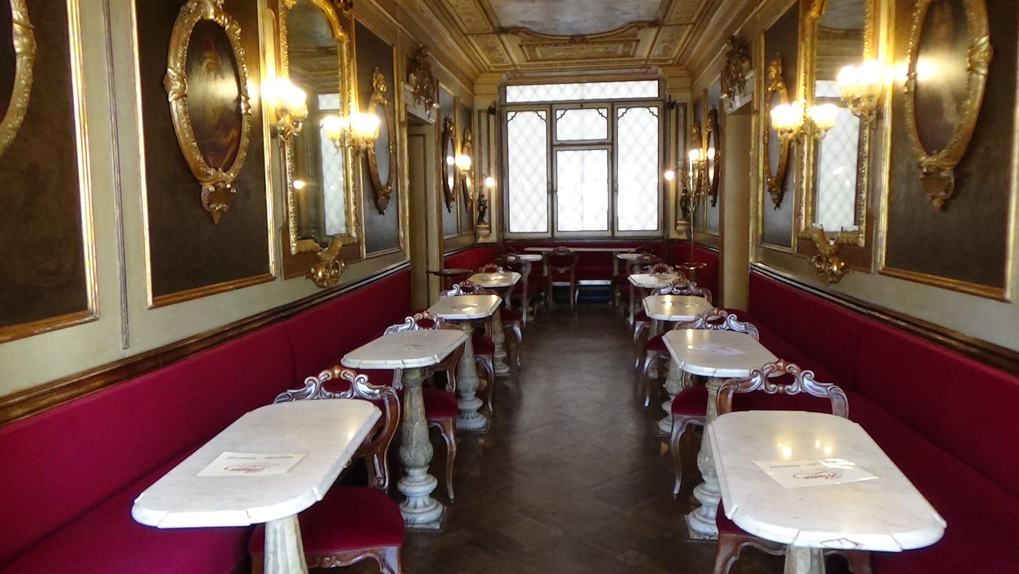 Florian Caffe in St. Mark's Square