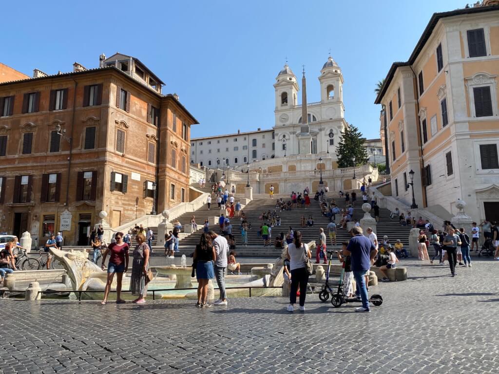 Travel to Italy: Spanish Steps