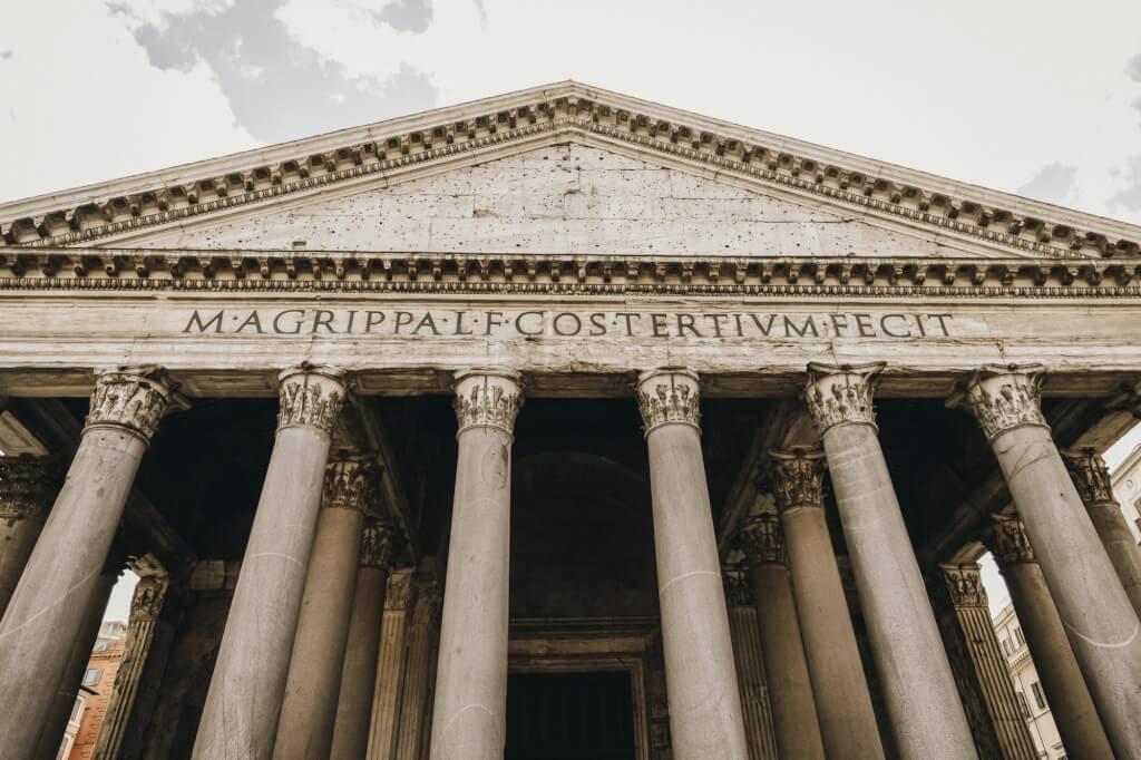 Pantheon - Portico